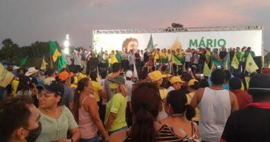 Centenas de apoiadores comparecem na convenção para homologar Mário Abrahim na disputa pela prefeitura de Itacoatiara