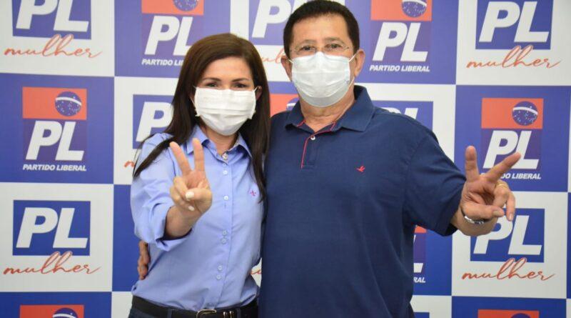 Alfredo e Conceição formalizam registro de candidatura e apresentam coligação